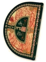The Round Haggadah Hebrew - English Edition