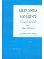 Responsa in a Moment Volume 2 1990-1996