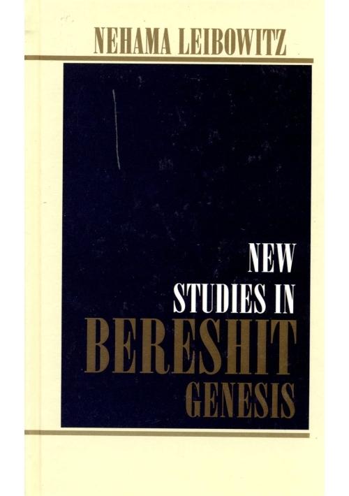 Studies in the Weekly Sidra Genesis (English)